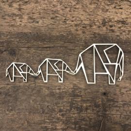3 olifanten