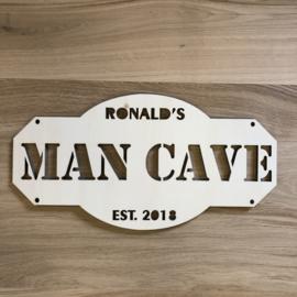 Man cave | met eigen naam |