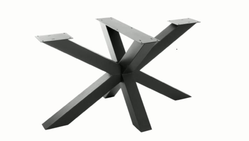 Stalen onderstel tafel - Matrix nieuw model 10x10