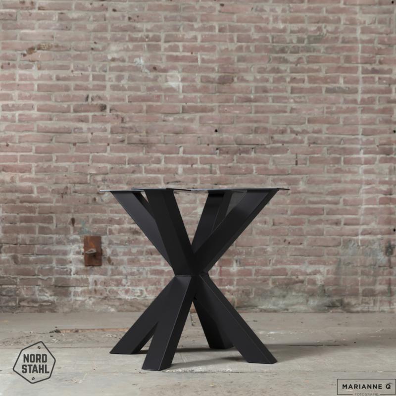 Stalen onderstel tafel -  Double X leg - Nordstahl