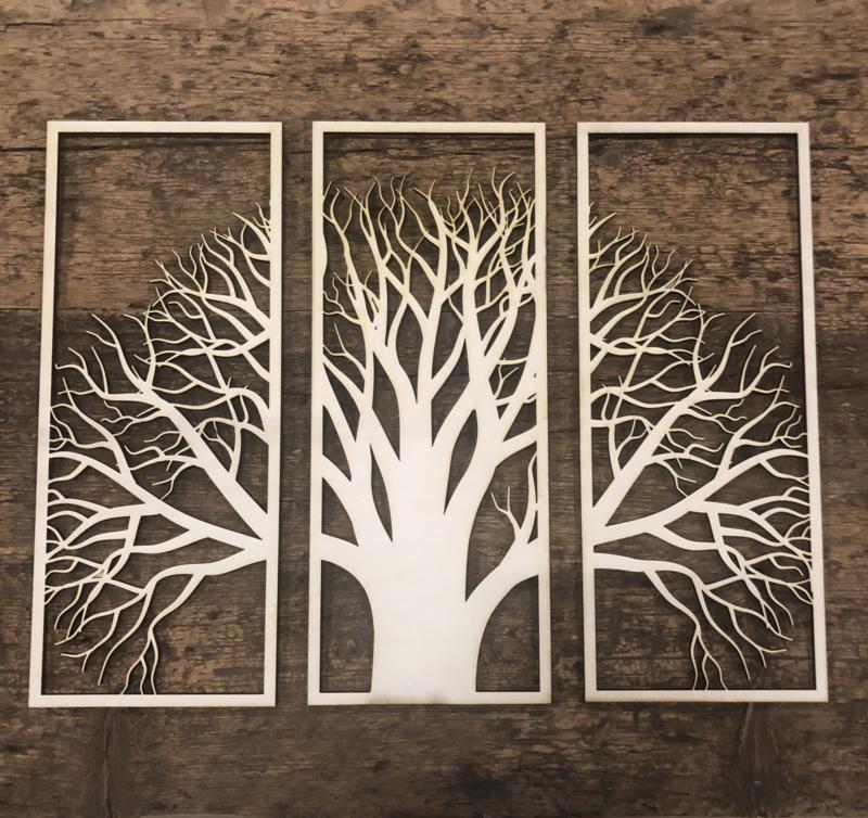 Eikenboom 3 delig