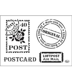 Postcard- Original A4