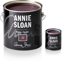 NEW Annie Sloan Wall Paint Tyrian Plum 2,5 liter