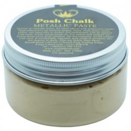 Posh Chalk metalic smooth pasta light gold