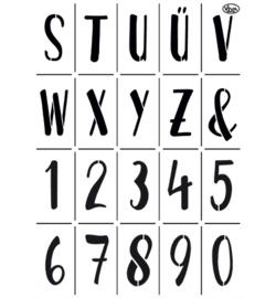Alphabet Modern A3 2 delig