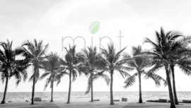 PALM TREES mint by michelle decoupagepapier A1