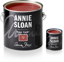 New Annie Sloan Wall Paint Primer Red 2.5 liter