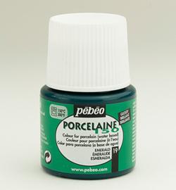 Pebeo porcelaine verf emerald  45 ml