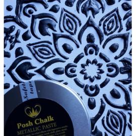 Posh Chalk metalic smooth pasta black carbon