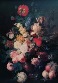 RENAISSANCE FLOWERS mint by michelle decoupagepapier A1
