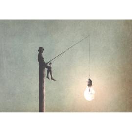 FISHING FOR IDEAS - MINT BY MICHELLE DECOUPAGE PAPIER-A1