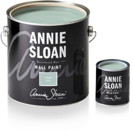 NEW Annie Sloan Wall Paint Upstate Blue 2,5 liter