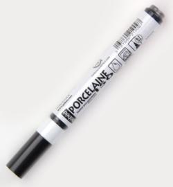Pebeo Porcelaine stift zwart fijn 0.7mm