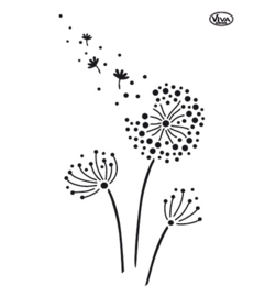 Blaasbloemen make a wish... A4