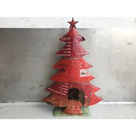 Unieke metalen kerstboom 160cm