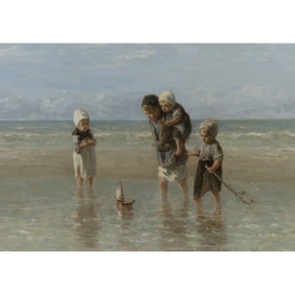 WATERPLAY - MINT BY MICHELLE DECOUPAGE PAPIER-A1
