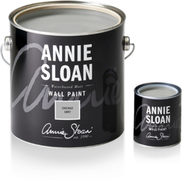 NEW Annie Sloan Wall Paint Chicago Grey 2,5 liter
