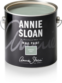 NEW Annie Sloan Wall Paint Pemberly Blue 2,5 liter