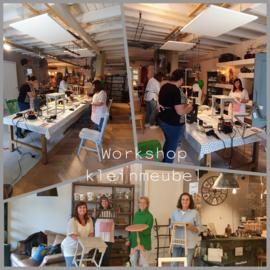 6 november 13:30-16:00 workshop kleinmeubel pimpen