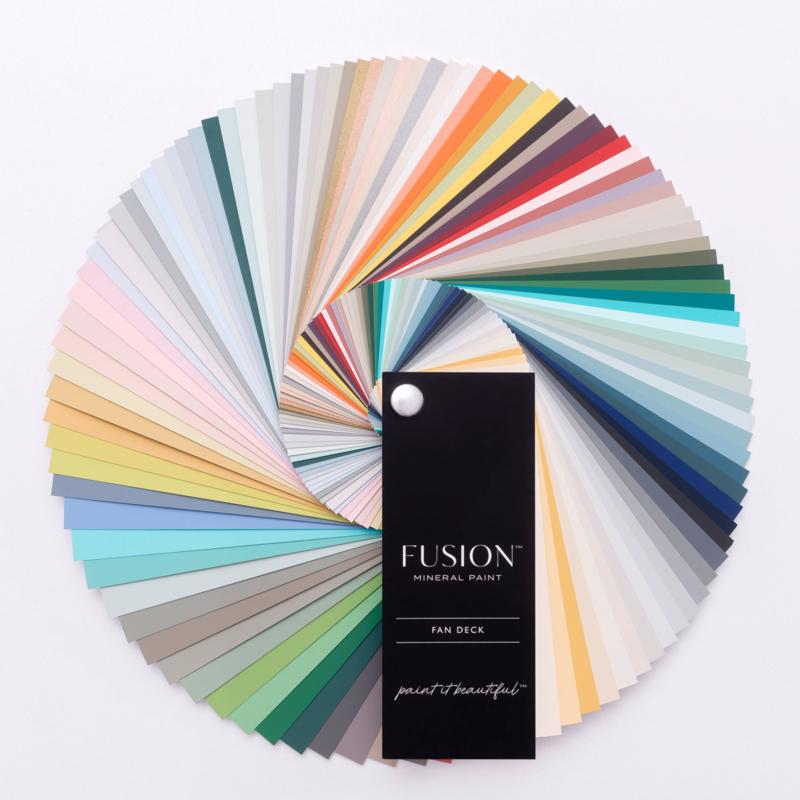 Kleurenwaaier  Fan Decks Fusion Mineral Paint
