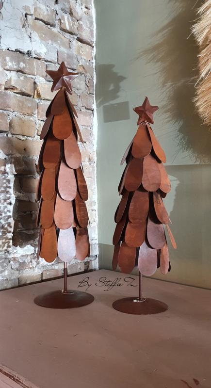 Rusty tree metaal 50cm