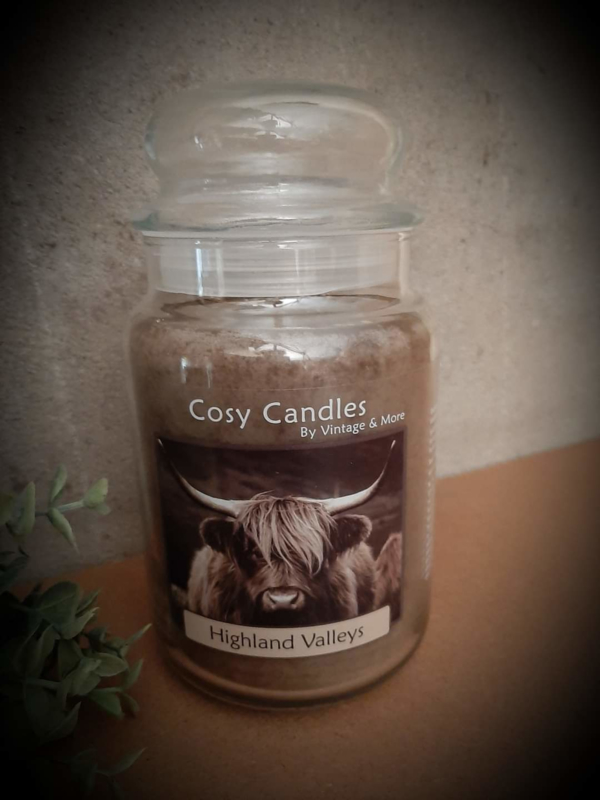Cosy Candle Highland Valleys