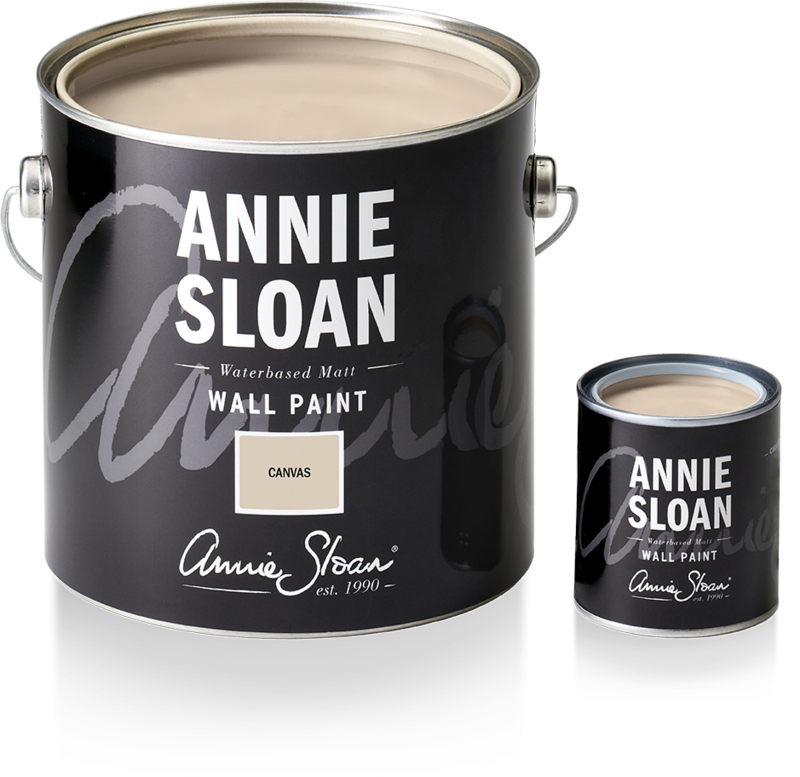 NEW Annie Sloan Wall Paint Canvas 2,5 liter