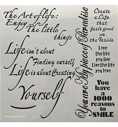 The art of life 30 cm x 30 cm