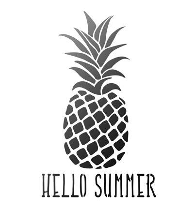 Hello Summer Ananas A4