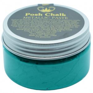 Posh Chalk metalic smooth pasta green fhthalo - in Textiel & Handwerken
