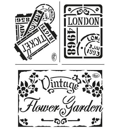 Vintage Flower garden