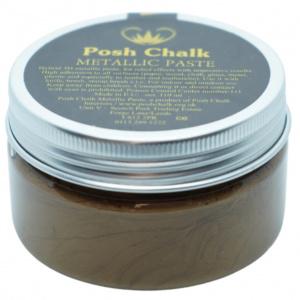 Posh Chalk metalic smooth pasta deep gold - in Textiel & Handwerken