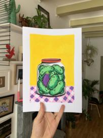 Originele tekening: Pickles
