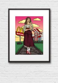 Print: Mignon verlangend naar haar vaderland