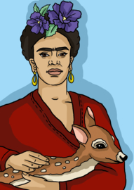 Print: Frida Kahlo