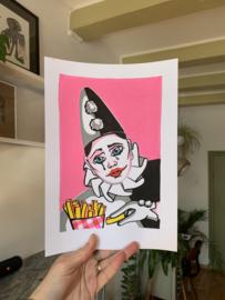 Originele tekening: Pierrot