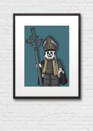 Print: Ghost Lego