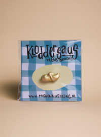 Broche: Klodder saus