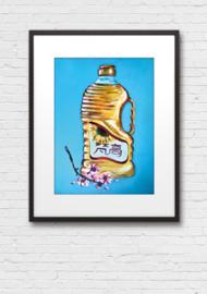 Print: Zonnebloemolie van Van Gogh