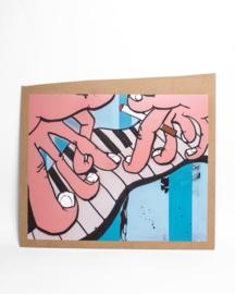 Schilderij: Jazz hands