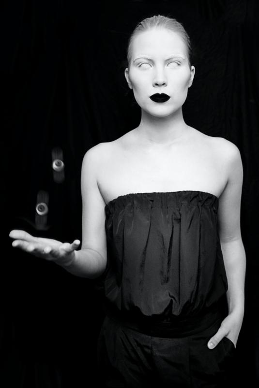 Fotokunst: Hoge ogen gooien
