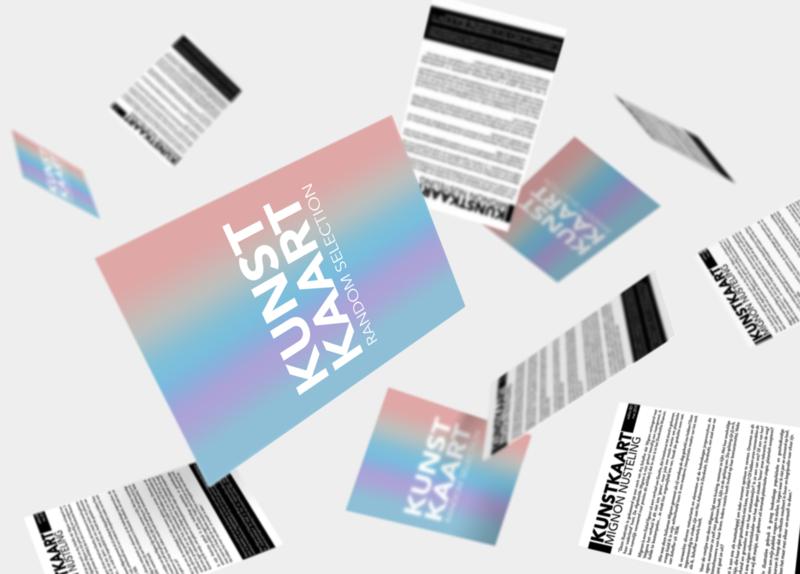 Kunstkaart: Verrassingsenvelop 4 stuks