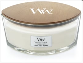 WW White Tea & Jasmine Ellipse Candle