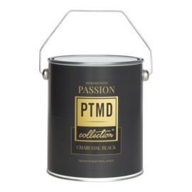 PTMD Premium wall paint Charcaol Black 2,5 L