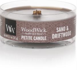 WW Sand & Driftwood Petite Candle