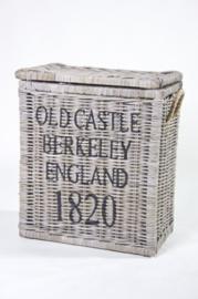 TRUNK 'OLD CASTLE BERKELEY ENGLAND 1820 ' KOBOO GREY