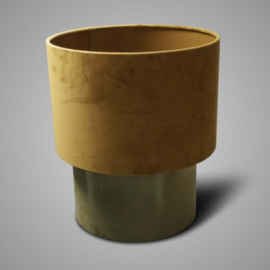 SORT. OF LAMPSHADE CYLINDER GREEN D.32 H.21