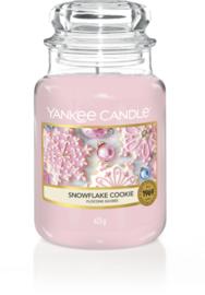 YC Snowflake Cookie Large Jar