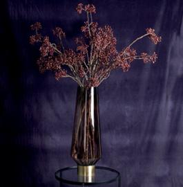 Berry plant burgundy berry spray long