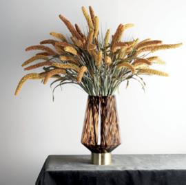Twig Plant orange cattail spray
